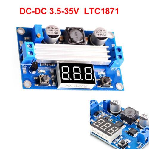 LTC1871 Step-Up Konverter 100W 3-35V DC-DC-Wandler Boost Converter LED-Voltmeter