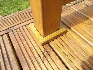 75 Mm Tablier Trims Noyau Post Plinthe Base Finition Deck Kit Gap Bordure-afficher Le Titre D'origine