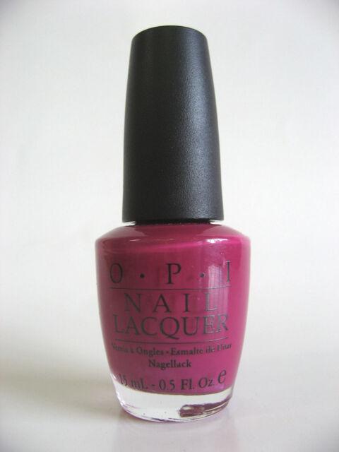 OPI Burlesque ALIS BIG BREAK Red Shimmer w/ Gold Fleck