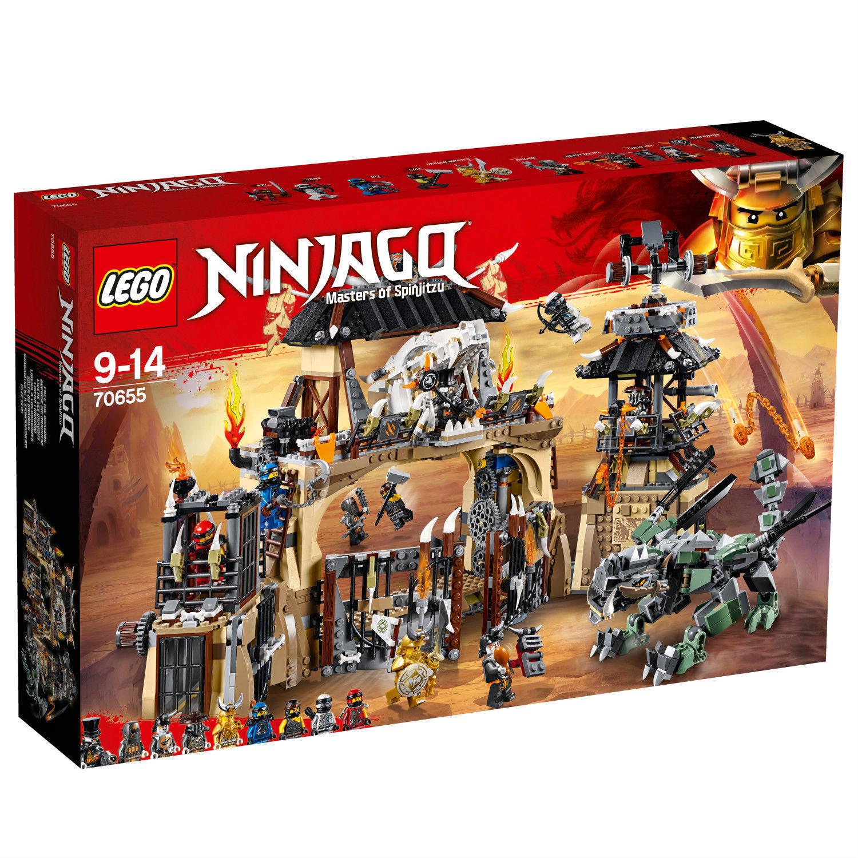 LEGO® NINJAGO® 70655  Drachengrube  Heavy Metal Eisen-Baron NEU OVP NEW MISB