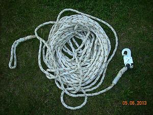 """""""rettungsseil"""" 20 M Spielseil Verlegen Seil Selbstbewusst Gehemmt Befangen Unsicher Halteseil"""