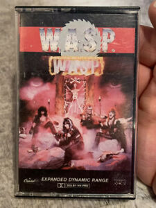 Self Titled By W.A.S.P. (Cassette 1984 Capitol) 4XT-12343 WASP