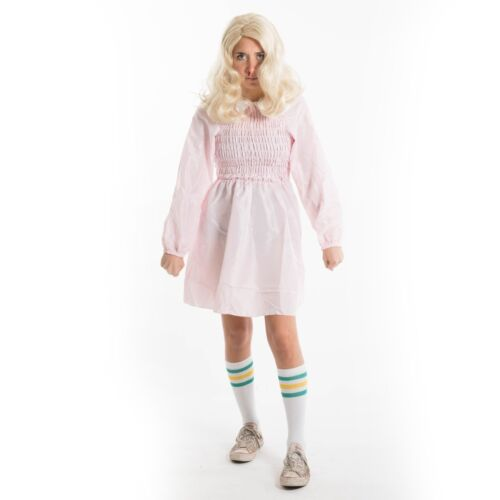 Adults 11 Eleven Dress and Socks Stranger Fancy Dress Costume Things Halloween