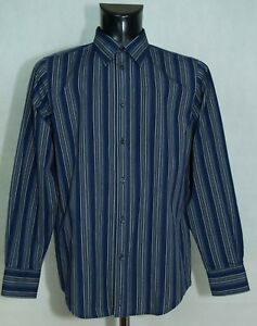 MENS-BEN-SHERMAN-SHIRT-LONG-SLEEVE-COTTON-SIZE-L-EXCL