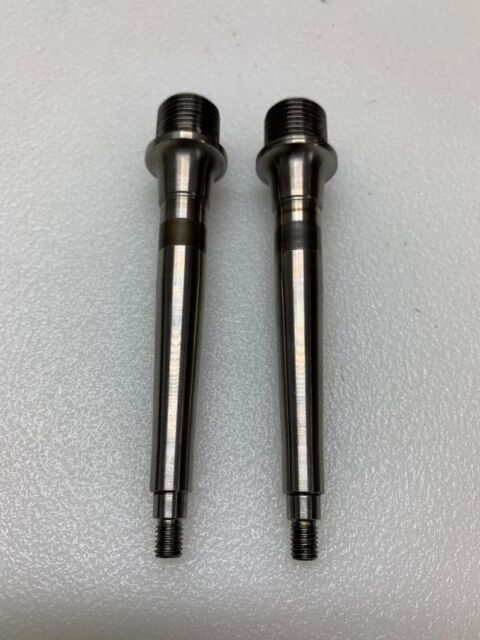 Titanium//Ti Spindle//Axles For Crank Brothers Egg Beater Candy 1//2//3//11
