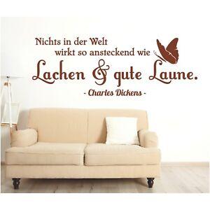 Wandtattoo-Spruch-Welt-Lachen-gute-Laune-Zitat-Deko-Wandaufkleber-Sticker-5