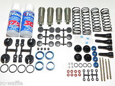 ASC80916 TEAM ASSOCIATED RC8 B3E 1/8 BUGGY COMPLETE SHOCKS SET FRONT AND REAR