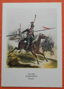 éNergique Cavalerie Freye Ville De Hambourg Cavallerie Uniforme Monten Pierre Pression 1978-afficher Le Titre D'origine