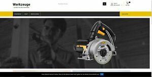 Amazon Affiliate - Werkzeug Shop - kein PA-API-Schlüssel benötigt - 823 Artikel