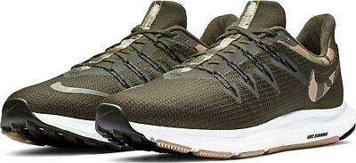 Nike Quest Camo Camuflaje Zapatillas Running Hombre