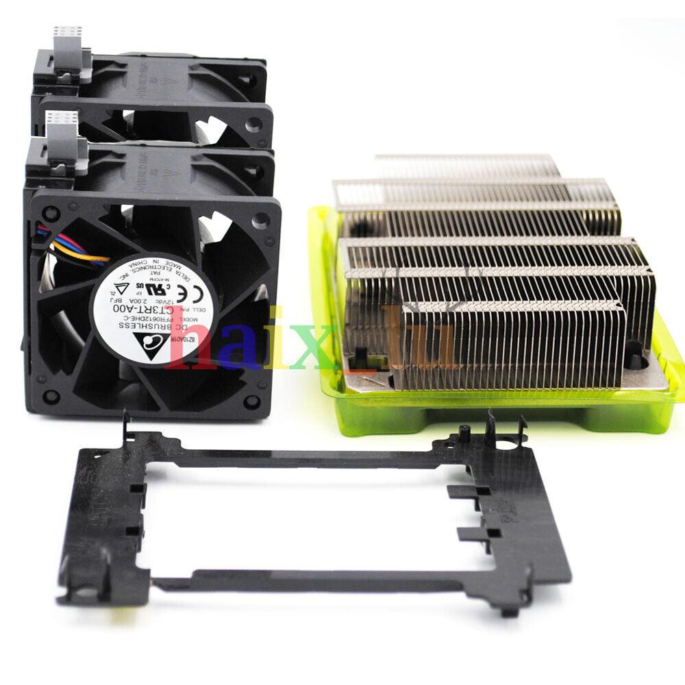 Clip 0XPDVP New Dell Server R740 CPU Upgrade Kit Heatsink 0C6R9H,Fan 0N5T36