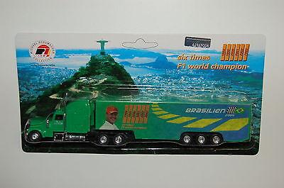 Werbetruck - Michael Schumacher Collection - F1 Saison 2004 - Nr 18 Brasilien -9