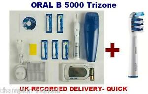 ORAL-B-TRIUMPH-5000-TRIZONE-TOOTHBRUSH-KIT-WIRELESS-SMART-GUIDE-FREE-POSTAGE