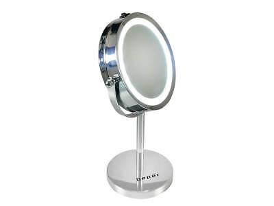 Frank Beper 40.290 Led Zoom Kosmetik Spiegel 360° 5-fach Vergrößerung Schminkspiegel Klar Und Unverwechselbar Möbel & Wohnen