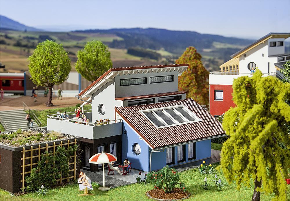 Faller H0 Moderno Casa Miniaturas Kit Construcción (1 87 ), Art.130443