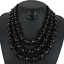 Fashion-Crystal-Pendant-Bib-Choker-Chain-Statement-Necklace-Earrings-Jewelry thumbnail 55