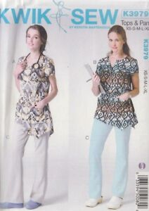 PATTERN-Women-039-s-Tops-amp-Pants-women-039-s-sewing-PATTERN-Kwik-Sew