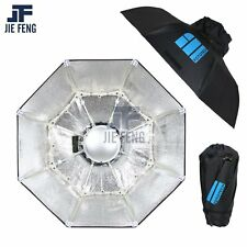 """Silver 70cm 28"""" Collapsible Beauty Dish Octagon Softbox Bowens Mount for Bowens"""