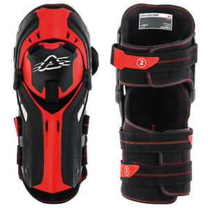 Mx Knee Braces >> Details About Acerbis Gorilla Enduro Mx Motocross Hinged Knee Brace Guards Pads