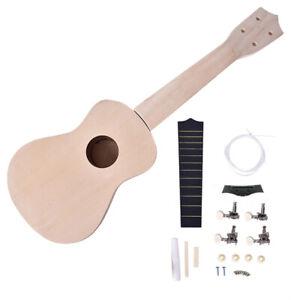 21-Inch-DIY-Ukulele-Kit-Tool-Guitar-039-Handwork-Painting-Children-039-s-Toy-for-Amat