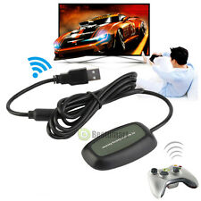 Wireless USB Wireless Receiver Game Controller Adapter for Xbox 360 PC Windows