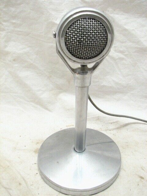 Shure Ultra 100MC Crystal Microphone 100 MC Lollipop Stand Mic Ham Radio
