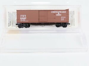 N-Scale-MTL-Micro-Trains-39170-C-amp-O-Chesapeake-Ohio-40-039-Box-Car-84827-RTR-Model