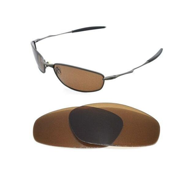 b1769cb52a2 Polarized Bronze Replacement Lens for Oakley Whisker Sunglasses for ...