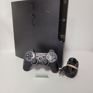 Sony Playstation 3 PS3 Slim CECH-3001A 160GB with Controller & 6 Installed Games