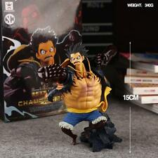 FIGURE ONE PIECE RUFY GEAR FOURTH 15 CM 4 MONKEY D. LUFFY RUBBER ANIME MANGA #1