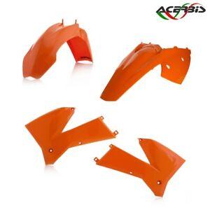 ACERBIS-KIT-CARENE-PLASTICHE-ARANCIO-KTM-125-EXC-2T-2005-2007