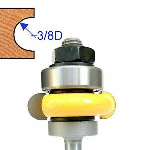 "1pc 1/4"" shank 3/8"" Diameter w/Top Bearing Flute Router Bit S"