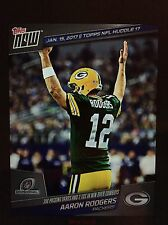 2016 Topps Huddle: Topps Now Aaron Rogers Jan 15th Digital cZ N