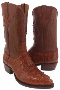 c0073df7792 Details about Mens Genuine Chedron Crocodile Tail Alligator Western Cowboy  Boot Exotic