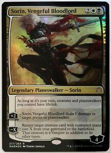 Vengeful Bloodlord  X4  Rare War of the Spark  MTG  Sorin