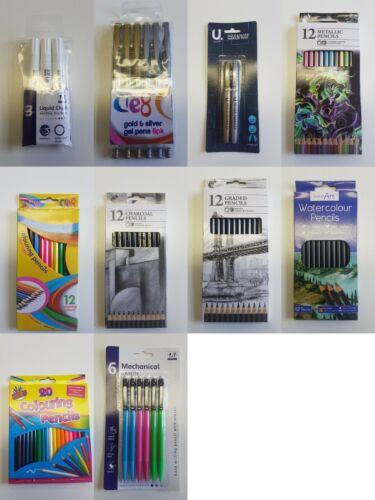 Hobby Art Niños cardmaking pluma y lápiz juegos además de un regalo gratis con cada orden