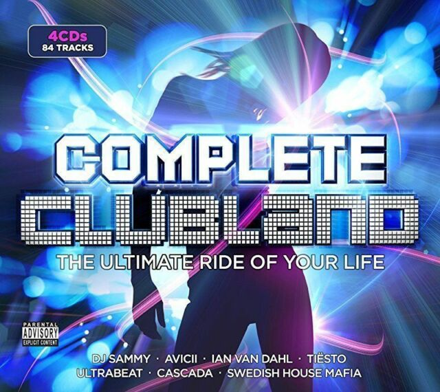 COMPLETE CLUBLAND HITS 4 CDs BOX SET 84 TRACKS Original Audio Music CD Brand New
