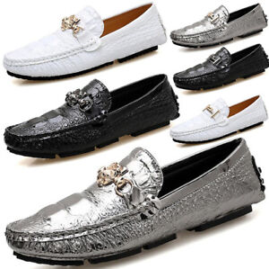 fashion mens casual slip on loafers driving shoes