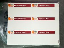 New Listingmembers Deal Label Retail Store Price Stickers Tags Labels 50 Sheets