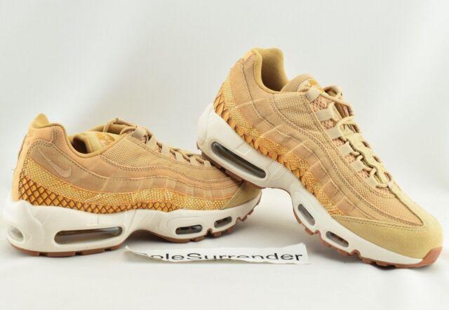 Nike Air Max 95 Premium SE Herren Schuhe 924478 201 Vachetta