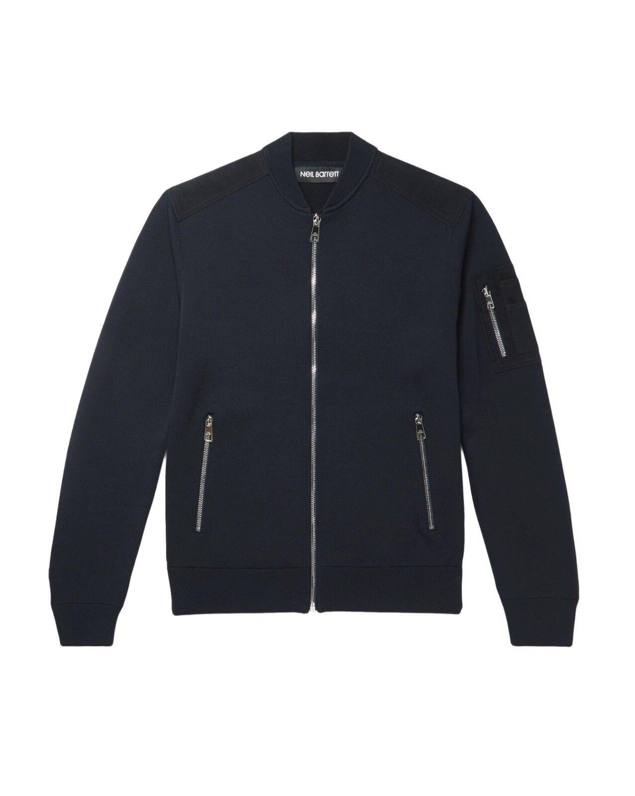 NEW  NEIL Size: BARRETT Cardigan Bomber Size: NEIL M - retail€ 680 160faf