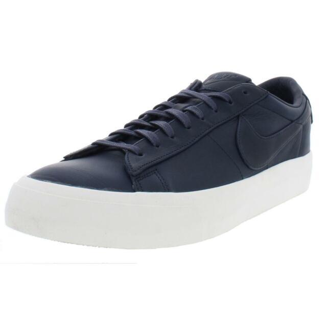timeless design 2cc75 83963 Nike NikeLab Blazer Studio Low 904804-400 Obsidian Blue Navy Sail DS Size  13 for sale online   eBay