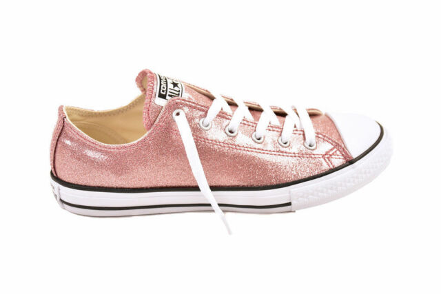 Limited Edition Converse Chuck Taylor Rose Gold Low SNEAKERS - Junior 1
