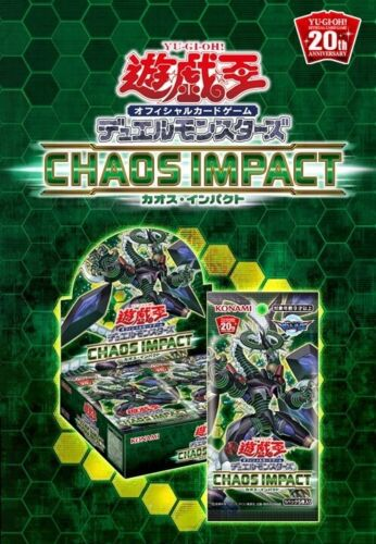 CHAOS IMPACT Booster Box Sealed CHIM Japanese Yugioh