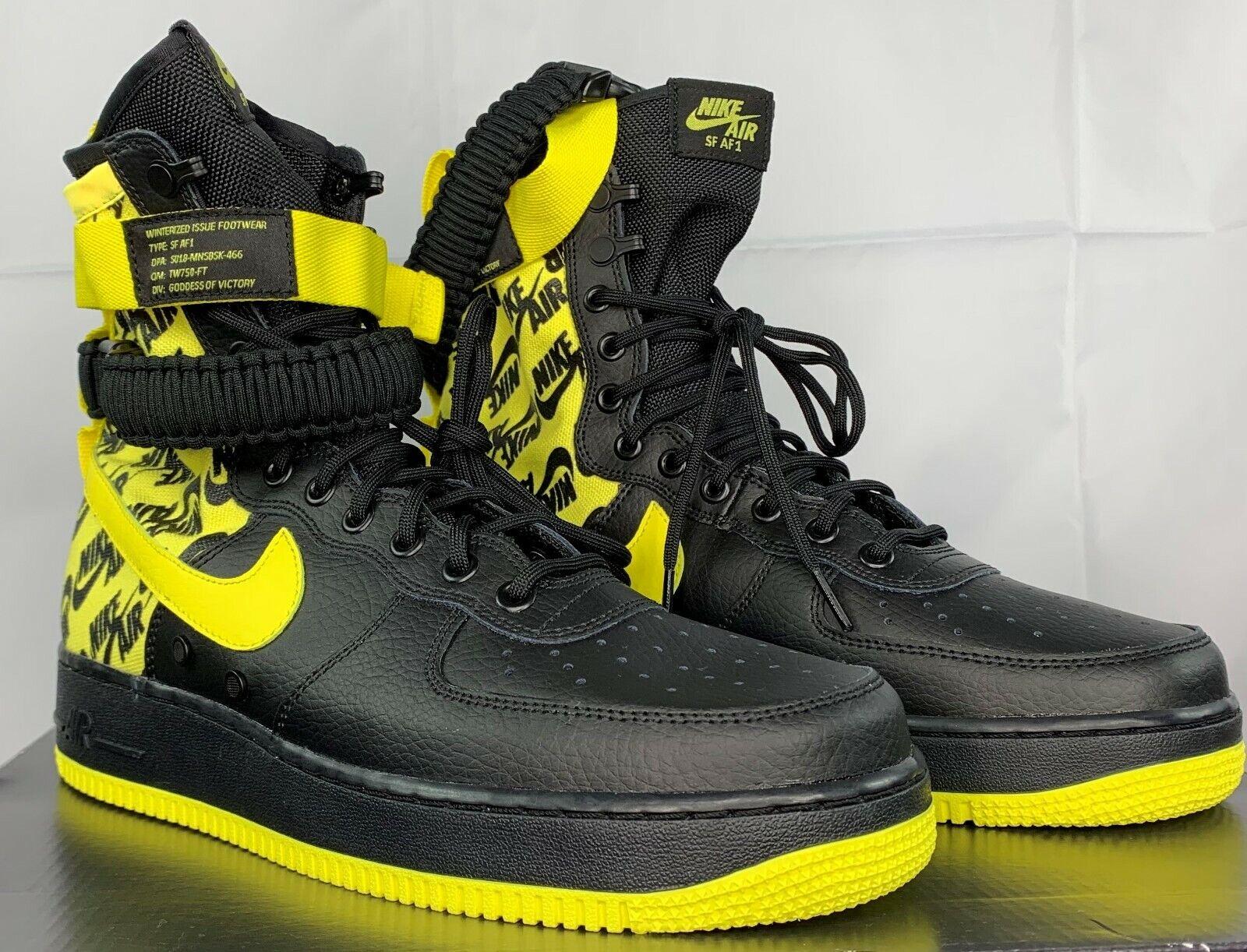 Nike Men's Air Winterized SF AF1 Issued Footwear High Top Shoes Sneakers AR1955