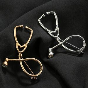 Doctor-Enfermera-Estetoscopio-Broche-Alfileres-Medico-Medicina-Graduacion-Regalo