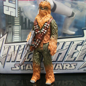 """STAR WARS story solo CHEWBACCA 3.75/"""" force link 2.0"""
