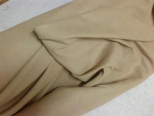 Nubian sable les deux côté en daim synthétique tissu 280gr//mt 145cms largeur off the roll C#5