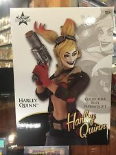 ICON HEROES HARLEY QUINN BUST PAPERWEIGHT NICE PIECE IN STOCK