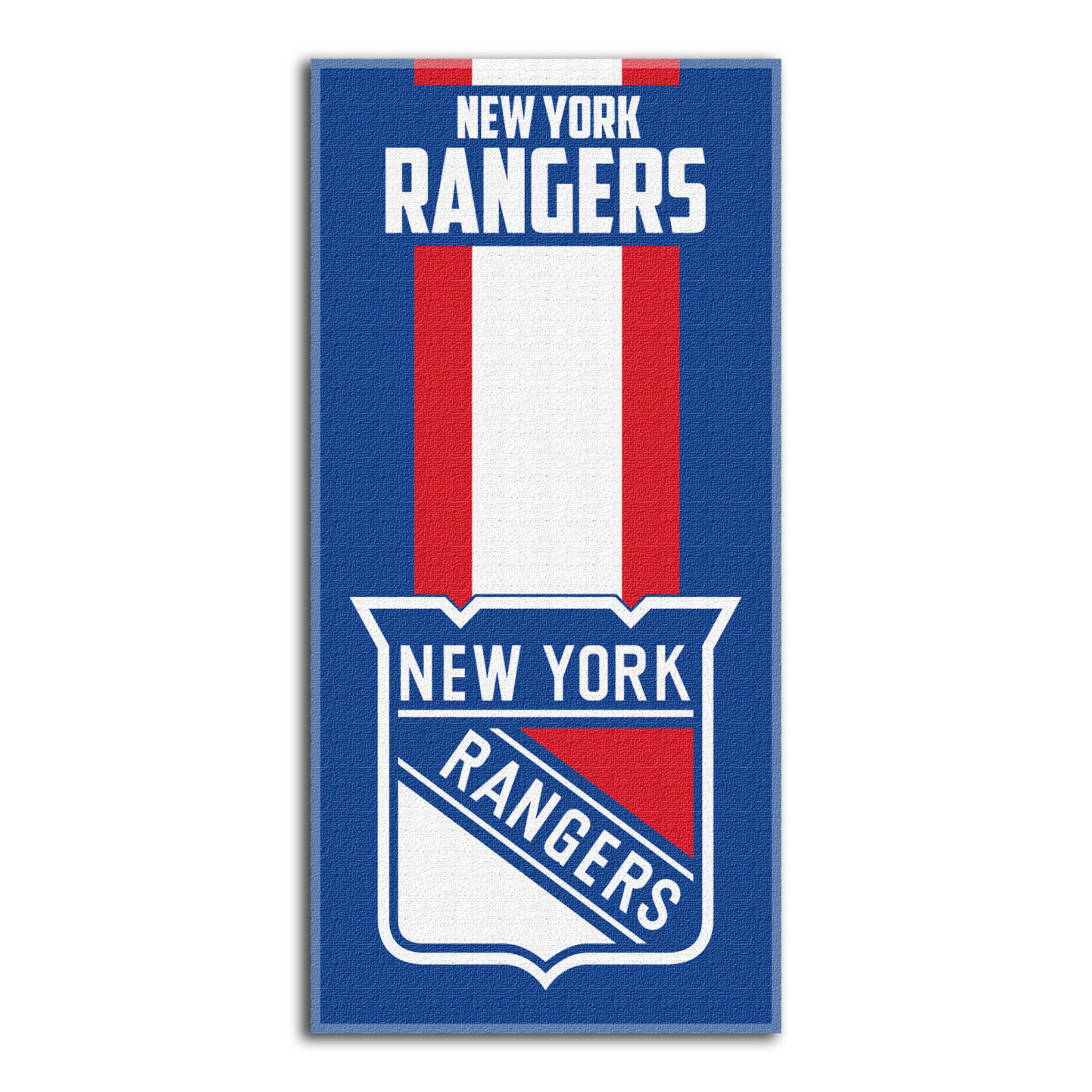 NHL New York Rangers Rangers Rangers NY großes Badetuch Handtuch Zone-Read-Beach Towel 150x75cm 98c79c